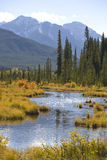 Vermilion Lakes Stock Photo