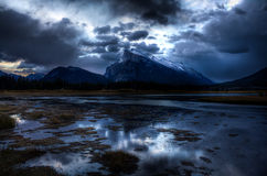 Vermilion Lakes Royalty Free Stock Photography