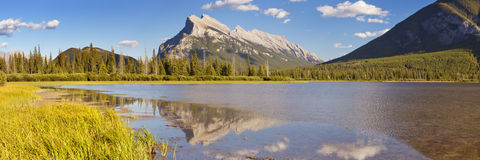 Vermilion Lakes, Banff National Park, Canada Stock Image