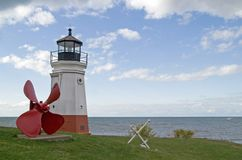 Vermilion Lighthouse Royalty Free Stock Image