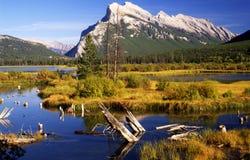 vermillion озера сценарный Стоковая Фотография RF