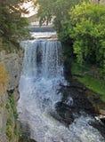 Vermillion река в Hastings, Минесоте стоковое изображение rf