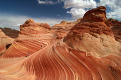Vermillion Cliffs Trekking stock photo