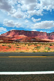 Vermillion Cliffs, USA Stock Photography