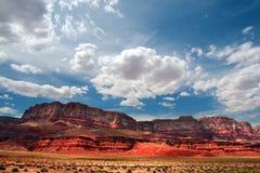 Vermillion Cliffs, USA royalty free stock photos