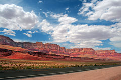 Vermillion Cliffs, USA royalty free stock images