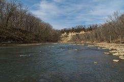 Vermillion flod Arkivfoton