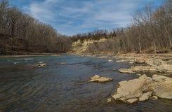 Vermillion flod Royaltyfri Foto