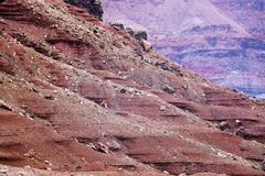 Vermillion klippor i Arizona Arkivfoto