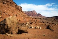 Vermillion klippor i Arizona Fotografering för Bildbyråer
