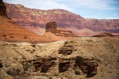 Vermillion klippor i Arizona Royaltyfri Foto