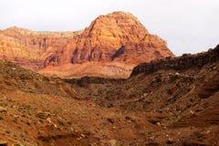 Vermillion klippor i Arizona Royaltyfria Bilder