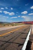 vermillion klippor USA Fotografering för Bildbyråer