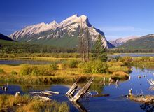 Vermillion Lake Stock Photos