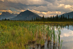 Vermillion Lake Stock Images
