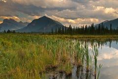 Vermillion Lake Arkivbilder