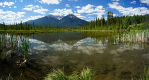Vermillion Lake in Banff National Park Royalty Free Stock Image