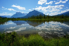 Vermillion Lake in Banff National Park Royalty Free Stock Photography