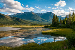 Vermillion Lake Panorama Royalty Free Stock Photo