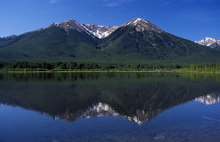 Vermillion Lakes Royalty Free Stock Image