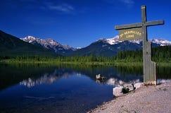 vermillion lakes Arkivfoton
