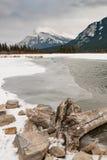 vermillion lakes Arkivbild