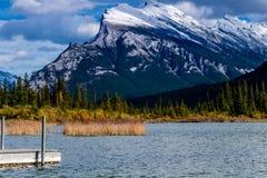 Vermillion Lakes, Banff National Park, Alberta, Canada Stock Photography