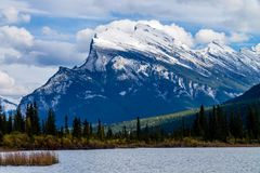 Vermillion Lakes, Banff National Park, Alberta, Canada Stock Images