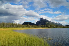 Vermillion Lakes, Banff Royalty Free Stock Photography