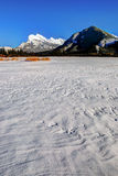 Vermillion Lakes Royalty Free Stock Photo