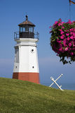 Vermillion Lighthouse Royalty Free Stock Images