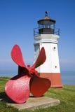 Vermillion Lighthouse Stock Image