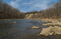 Vermillion River. Royalty Free Stock Photo
