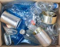 Verminder, gebruik opnieuw, recycleer: maak deel uit van de verontreinigingsoplossing royalty-vrije stock foto