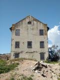Verminderungs-Steuermanngebäude auf Alcatraz-Insel Lizenzfreies Stockbild