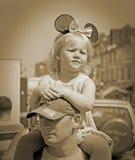 Vermoeid Carnaval-meisje royalty-vrije stock afbeelding