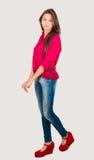 Vermoeid Jong Latijns Meisje Stock Foto's