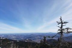 Vermont-Aussichten stockfoto