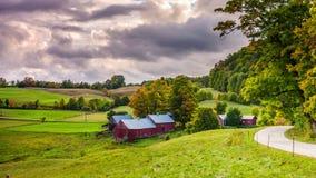 Vermont Autumn Farms stock footage