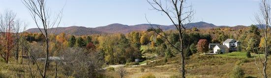 Free Vermont Autumn Foliage Panorama Stock Photos - 79403823
