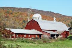 Vermont-Bauernhof Stockfotografie