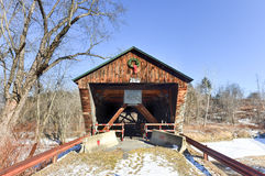 Vermont Covered Bridge Royalty Free Stock Photography