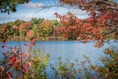 Vermont en otoño Fotografía de archivo libre de regalías
