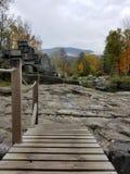 Vermont-Felsensteinbruch stockfotos