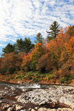 Vermont foliage view Stock Photo