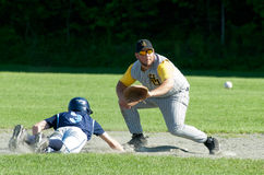 Vermont High School Baseball Stock Image