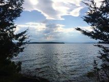Vermont Jeziorny Champlain Zdjęcia Stock