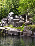 Vermont Marble Quarry Stock Image