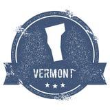 Vermont mark. Stock Image