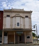 Vermont Masonic Hall. This is a Summer picture of he Vermont Masonic Hall located in Vermont, Illinois in Fulton County.  This structure  encompasses Chicago Royalty Free Stock Photos